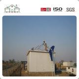 Casa prefabricada del hogar del panel de emparedado del chalet moderno