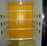 Porte à grande vitesse d'obturateur de rouleau de porte isolée par spirale à grande vitesse