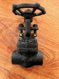 Valvola a saracinesca forgiata di Bw del filetto dell'acciaio inossidabile A105
