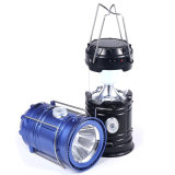 Solarkampierende Solarlaterne der taschenlampen-LED mit USB der Emergency Aufladung