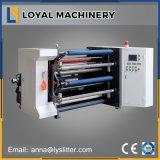 Rebobinage à grande vitesse automatique de bande non adhésive et machine de fente