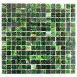 Hauptdekoration-kleine quadratische Buntglas-Mosaik-Fliese für Badezimmer