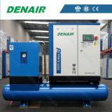Компактный, эффективный компрессор воздуха энергии с сушильщиком воздуха, баком