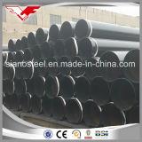 鉄の鋼鉄黒い管の製造業者はテンシンYoufaからガスのための黒い管か水または黒い管の手すりのための黒い管を作り出す