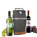 Saco de Tote do vinho de Champagne para o pacote do presente com cintas de ombro