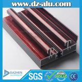 L'aluminium en aluminium a expulsé profil avec l'enduit de poudre anodisé par couleur différente