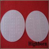 Elaborare il disco gelido opaco di vetro di quarzo con la scanalatura