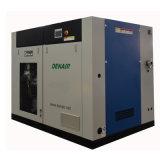 45 Kilowatt-elektrisches ölfreies/Öl weniger Schrauben-Luftverdichter mit 220cfm