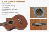 Custom marque Aiersi Handmade Cutway électrique de la guitare classique