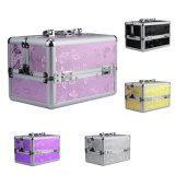 Beautycase van de Make-up van de Doos van de Laden van het aluminium de Kosmetische