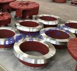 Турбинка насоса Slurry металла заменимая с частями насоса Warmans