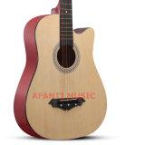"""Guitare acoustique du Basswood 38 d'OEM d'Afanti """" (AAG-125)"""