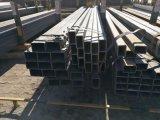 material rectangular de acero destemplado negro del tubo de acero de la estructura de edificio del tubo de 25*25 milímetro