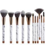 Мраморные макияж кисти, 11ПК щетки с мраморными макияж мешок Esg10485