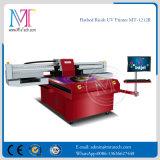 Impresora de inyección de tinta ULTRAVIOLETA de los resbaladores de Ricoh Gen5 del metal dual de la cabeza de impresora Mt-1212r