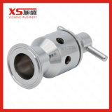 Válvulas sanitárias da pressão e de vácuo de Triclamp do aço inoxidável