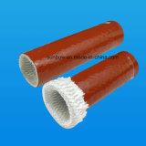 Hitzebeständige silikonumhüllte hydraulische Schlauch-Schutz Pyrojacket Feuer-thermische Isolierungs-Hülsen