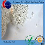 LDPE/LLDPE de maagdelijke HDPE Witte Korrels van Masterbatch van de Vuller van de Kleur