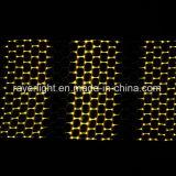 De Openlucht LEIDENE van Kerstmis van het Project van de verlichting Netto Lichte LEIDENE van de Vakantie Decoratieve Lichten van het Aftasten