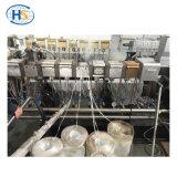 二重ねじNylon/PA6 + GF/のガラス繊維のプラスチック造粒機機械