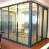 Puerta Tempered modificada para requisitos particulares de alto grado de la partición de cristal de Frameless de la oficina