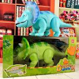 승진을%s 아이 3 뿔이 있는 공룡 전기 장난감