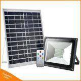 100W luz LED de alta qualidade alimentada a energia solar Flood Wall Street com três modos