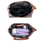 Sacchetto stabilito del pannolino della tela di canapa del nuovo del Tote bambino adulto all'ingrosso della borsa