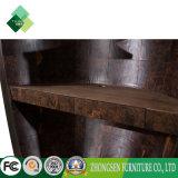 Bureau en bois/en bois incurvé blanc fait sur commande professionnel de meubles de bureau de réception à vendre