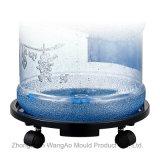 China preço de fábrica do fornecedor Bandeja Móvel nas Quatro Rodas/Carrinho/Palete por galão de água do vaso