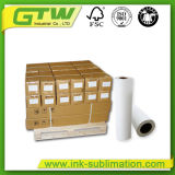 No-Curl 105 GSM Sublimation à séchage rapide du papier pour imprimante jet d'encre