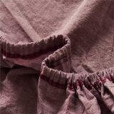 別荘の綿の小切手のホテルの供給のホテルの寝具の麻布