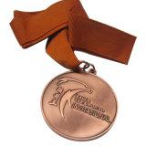 Medalha de ouro feita sob encomenda por atacado do esporte com gravura do logotipo 3D