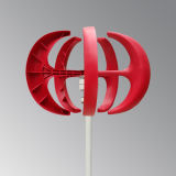 generatore di turbina verticale del vento di asse 100W in due colori
