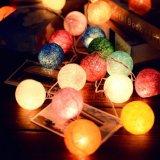 عرس عيد ميلاد المسيح منزل زخرفة كرة لون مصباح