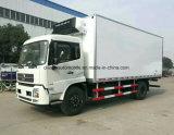 Camion frigorifié par 4X2 de chariot de réfrigérateur de qualité de camion de Dongfeng
