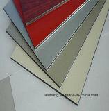 3mm PE / PVDF Feuilles ACP /China Fabricant de panneaux composites en aluminium