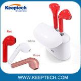 Venta caliente gemelos Doble par de auriculares inalámbricos Bluetooth Auriculares I7S I8s de Tws para auricular con base de carga