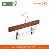 Cabide para crianças de madeira reta com Freios (MC012)