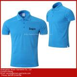 カスタムロゴによって印刷される昇進160GSM綿の不足分の袖のTシャツ(P241)