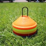 フットボールのサッカーのスポーツディスク円錐形セット