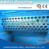 Sola desfibradora del eje/picadora de papel inútil de la película/máquina de pulir plástica