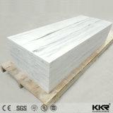 Fabricado na China Building Material Branco Puro 12mm Folha de superfície sólida