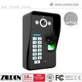 RFIDのカードのロック解除することを用いる熱いカラービデオのドアの電話