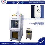 Metallo elettronico di plastica del collegare tutta la macchina UV della marcatura del laser dei materiali