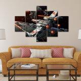 5 de Foto van het Canvas van Unframed van Comités drukt het Decor van het Huis van de Schilderijen van Giclee van het Kunstwerk van het Bureau van de Decoratie van de Muur van de Kosmische ruimte van Star Wars af