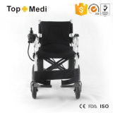 Rolstoel van de Apparatuur van de manier de Medische Bejaarde Gehandicapte Elektrische Vouwende Aangedreven