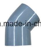 45 Grad-Krümmer der Polyvinylchlorid-Plastikbefestigungen für Wasserversorgung