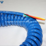 Fabricante de cables espirales para el acoplado y los carros