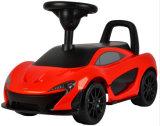 Kind-kleine Plastikfahrt auf Auto-Spielzeug mit Lizenz